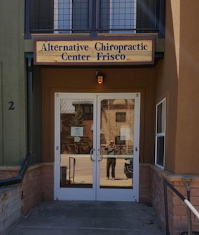 Chiropractor in Frisco Colorado